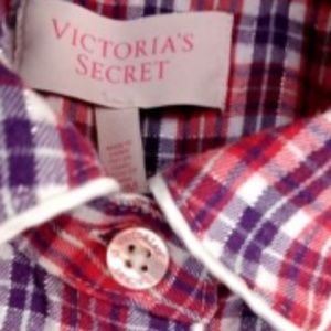 Victoria Secret Women's Plaids & Checks M Pajamas